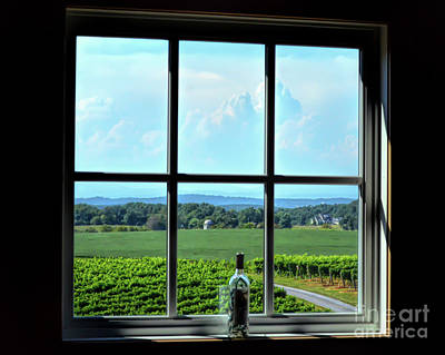 Photograph - View Through The Window by Kerri Farley