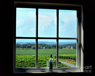 Photograph - View Through The Window by Kerri Farley