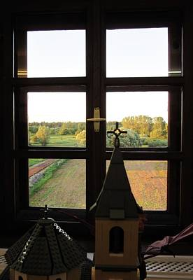 Photograph - View Through The Window by Vesna Martinjak