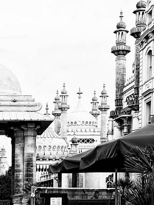 Photograph - View Through To The Royal Pavilion Brighton by Dorothy Berry-Lound