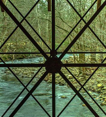Photograph - View Through Transect Window by Douglas Barnett
