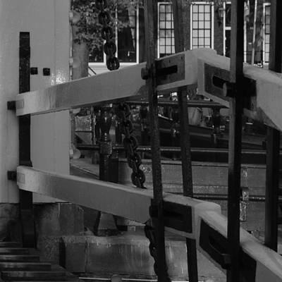 Photograph - view to Amsterdam bridge by Cheryl Miller