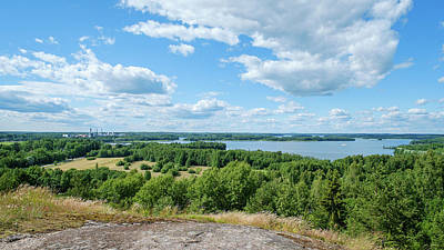 Photograph - View To Lake Lohjanjarvi by Ismo Raisanen