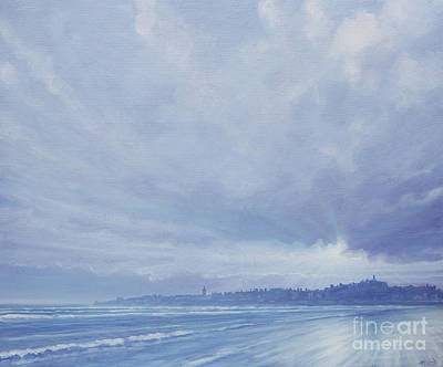 Perspective Painting - View To St Andrews  by Derek Hare