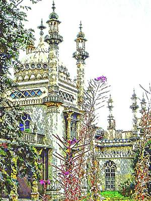 Photograph - View To The Royal Pavilion Brighton by Dorothy Berry-Lound