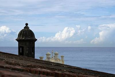 Photograph - View To The Sea From El Morro by Lois Lepisto
