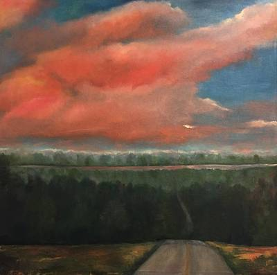 Painting - View To Yell County by Debbie Frame Weibler