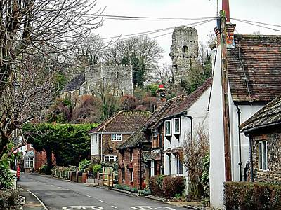 Photograph - View Towards Bramber Castle by Dorothy Berry-Lound