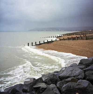 Photograph - View Towards Eastbourne by Will Gudgeon