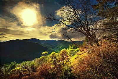 View West From Alco Ridge Art Print by Dale E Daniel Landscape Photography