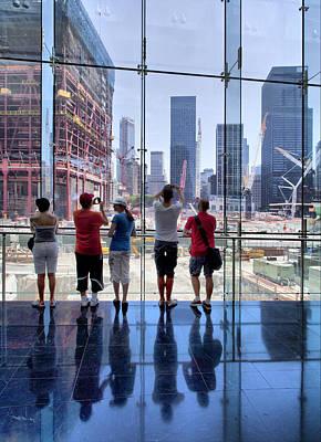 Viewing Ground Zero Art Print by Robert Ullmann