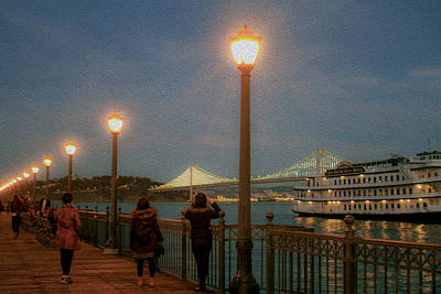 Photograph - Viewing The Lights by Bonnie Follett
