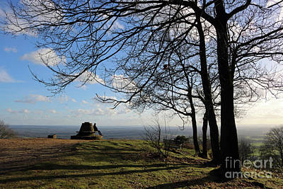 Photograph - Viewpoint At Holmbury Hill Surrey Uk by Julia Gavin