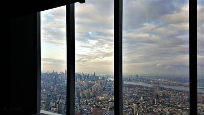Photograph - Views From The Freedom Tower by Rob Hans