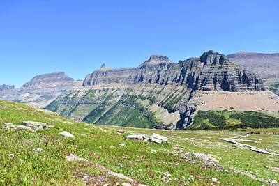 Photograph - Views From Logan's Pass by Dacia Doroff
