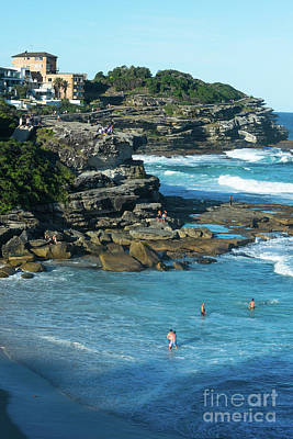 Photograph - Views From The Bronte To Bondi Coastal Path by Andrew Michael