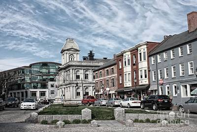 Photograph - Views Of Portland, Maine by Marcia Lee Jones