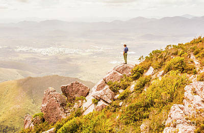 Lookout Photograph - Views On West Coast Tasmania  by Jorgo Photography - Wall Art Gallery