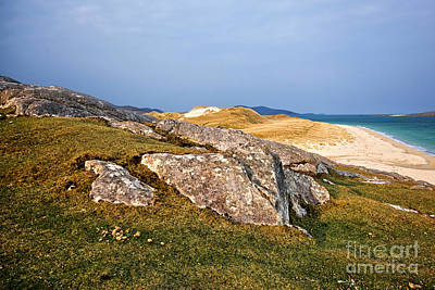 Isle Of Harris Wall Art - Photograph - Views To Luskentyre by Smart Aviation