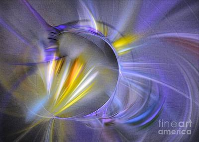 Digital Art - Vigor - Abstract Art by Sipo Liimatainen