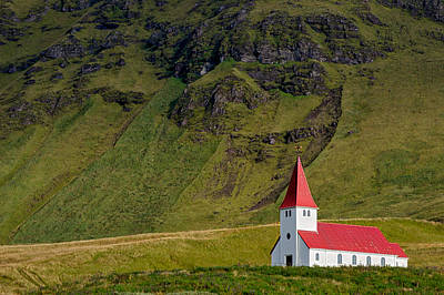 Photograph - Vik Church - Iceland by Stuart Litoff