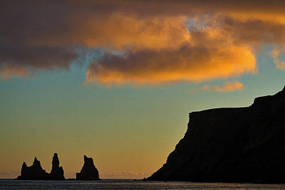 Photograph - Vik Sea Stacks At Dusk #2 - Iceland by Stuart Litoff