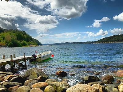 Photograph - Viken - Sweden by Thomas M Pikolin