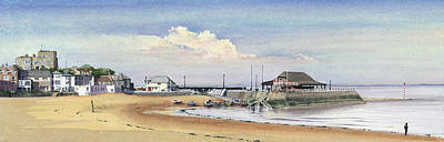 Painting - Viking Bay Broadstairs by Martin Howard