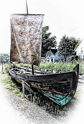 Photograph - Viking Boat by Marcia Lee Jones