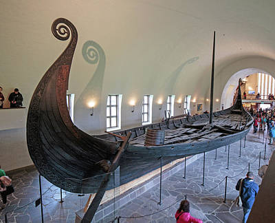 Photograph - Viking Ship by Allan Levin