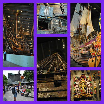 Photograph - Viking Ship Museum - Stockholm by Jacqueline M Lewis