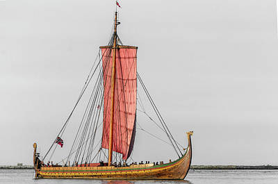 Photograph - Viking Ship by Stewart Helberg