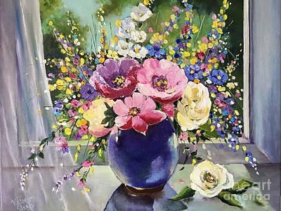 The Spring On My Window Original by Viktoriya Sirris