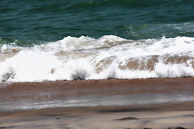 Photograph - Vilano Beach Ocean Waves by Gina O'Brien