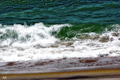 Photograph - Vilano Beach Sand And Surf by Gina O'Brien