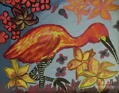 Painting - Vilet Crane by David Rodriguez