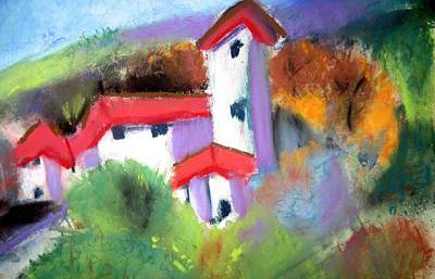 Painting - Villa by Anne Duke