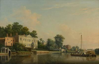 Tresses Painting - Villa At Twickenham by Samuel Scott