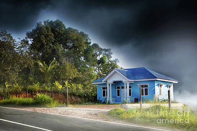 Photograph - Villa by Charuhas Images