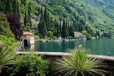 Photograph - Villa Cipressi Gardens by Carolyn Derstine