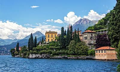 Photograph - Villa Cipressi On Lake Como by Carolyn Derstine