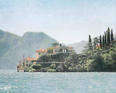 Photograph - Villa Del Balbianello  by Brooke T Ryan