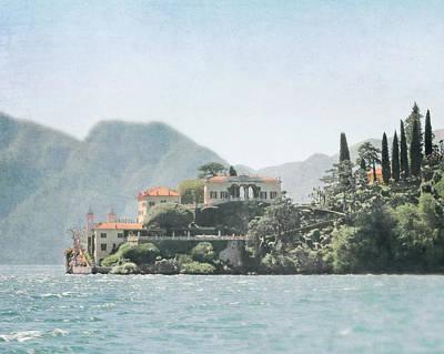 Lake Como Photograph - Villa Del Balbianello  by Brooke T Ryan