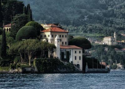 Lago Di Como Photograph - Villa Del Balbianello by Jim Hill