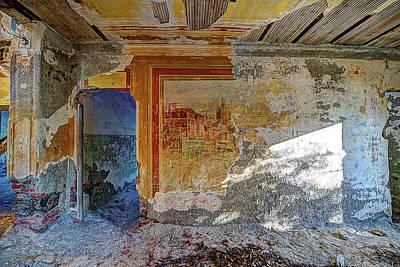 Photograph - Villa Giallo Atmosfera Artistica - Artistic Atmosphere by Enrico Pelos