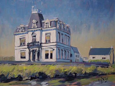 Painting - Villa Lhoest by Nop Briex