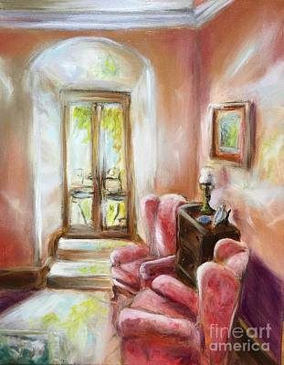 Painting - Villa Lounge by Kathy Lynn Goldbach