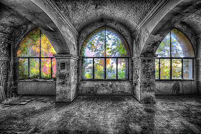 Photograph - Villa Of Windows On The Sea - Villa Delle Finestre Sul Mare I by Enrico Pelos