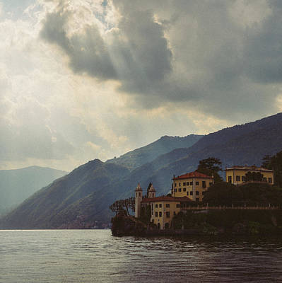 Photograph - Villa On Lake Como, Italy by Alexandre Rotenberg