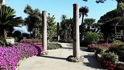 Digital Art - Villa Rufolo Gardens - Ravello, Italy by Joseph Hendrix